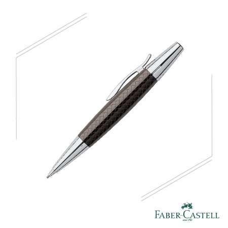 FABER - CASTELL E-MOTION系列 天然樹脂深褐色鱷魚紋旋轉鉛筆