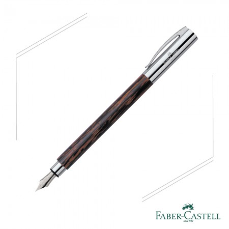 FABER - CASTELL AMBITION系列 天然椰木鋼筆